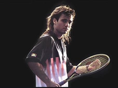 Andre Agassi won the 1992 Wimbledon