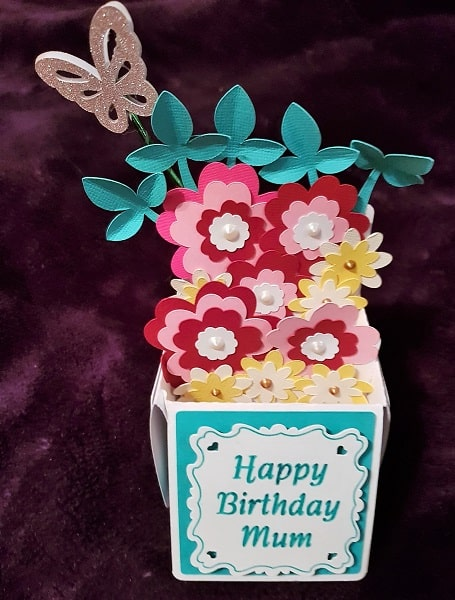 Creative ideas for Projects -Mum Birthday Pop up Card