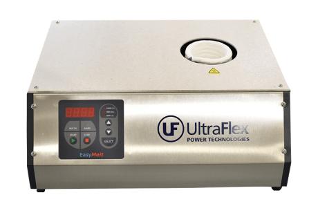 air-cooled desktop induction melter front