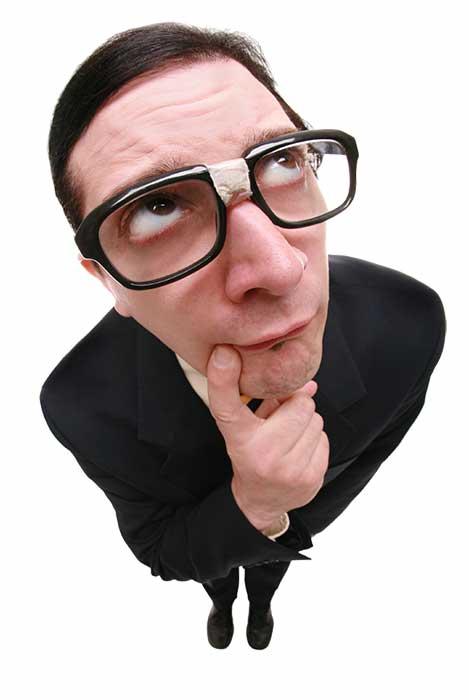 Geek pensando en optimizar la caché del navegador