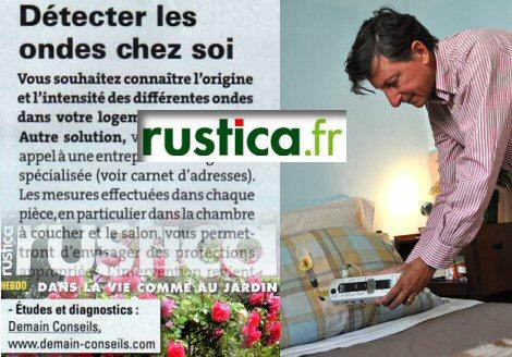On parle de nous dans Rustica