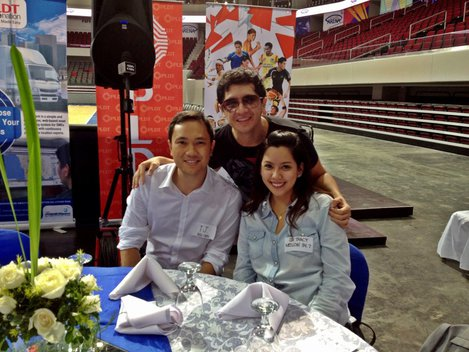 Me, hangin' with TJ Manotoc and Tracy Abad