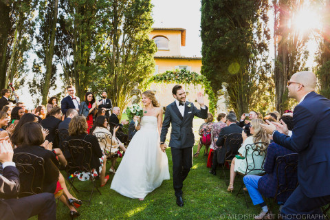 a Styilish wedding at Villa Tavernaccia Florence