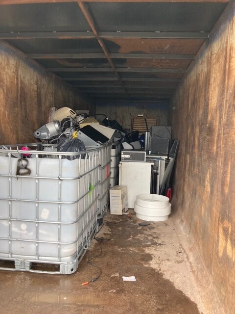 Solid waste authority to recycle and declutter electronics