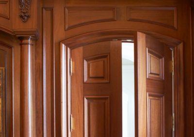 Private Residence custom wood work