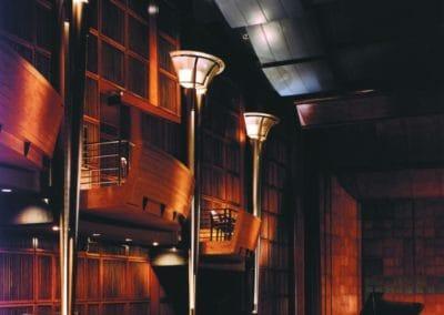 Corbett Auditorium University of Cincinnati custom wood work