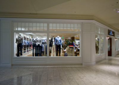 Vineyard Vines retail wood work