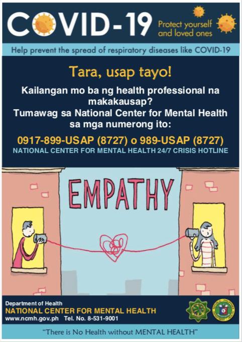 Contact Mental Health Crisis Hotline