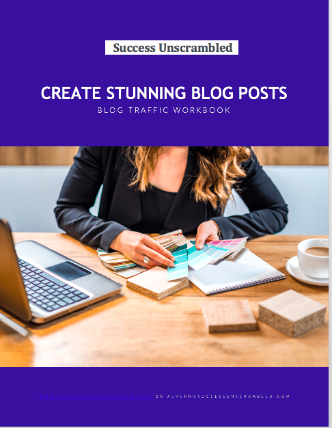 Create Stunning Blog Posts Workbook