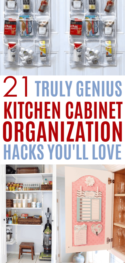 kitchen cabinet organization hacks everyone needs to try