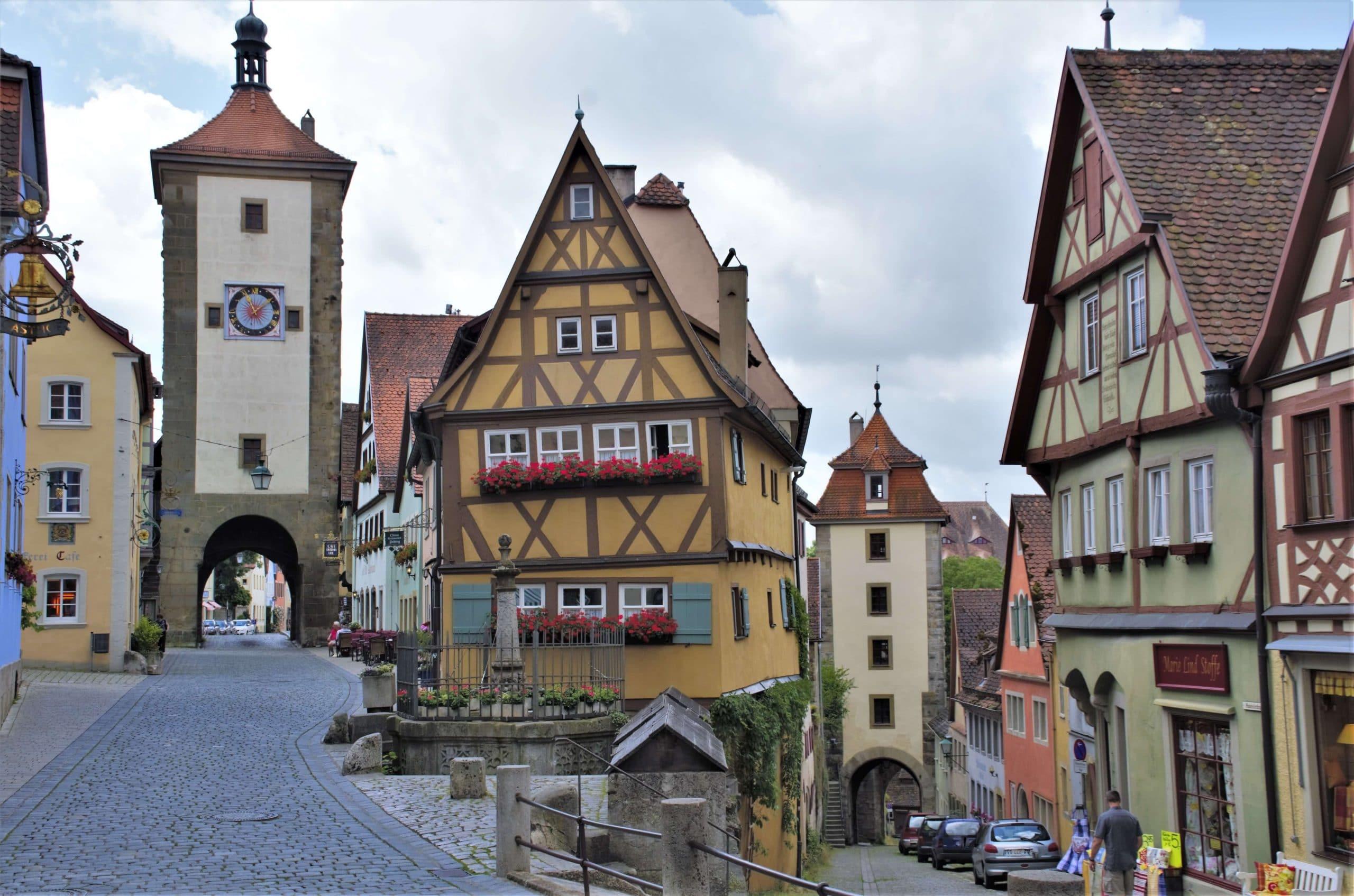 Rothenburg ob der Tauber Plönlein