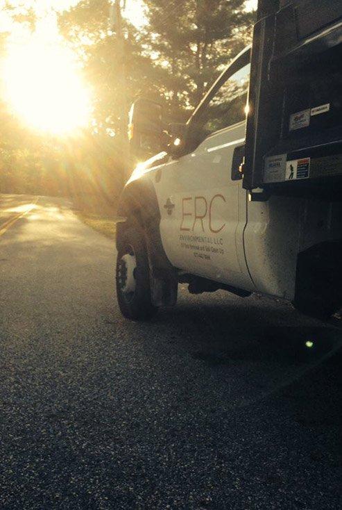 NJ Oil Tank Removal Company - ERC Service Truck