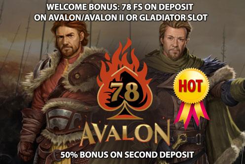 avalon 78 casino promo