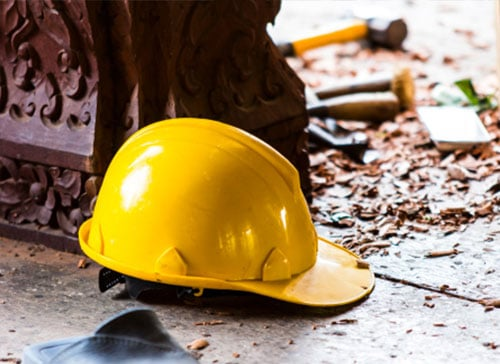 construction injury