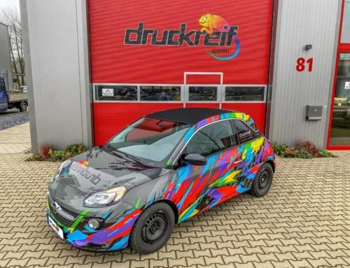 Opel Adam Druckreif