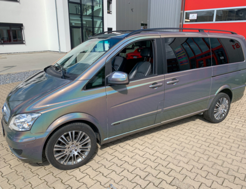 Mercedes Benz Viano Psychedelic Gloss
