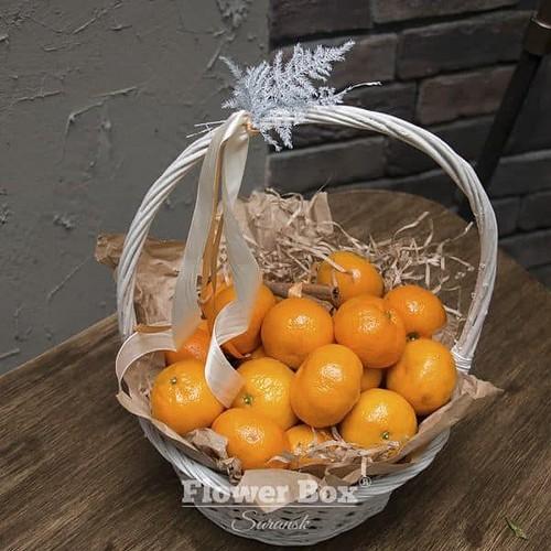 Корзина с мандаринами №222 - Фото 57