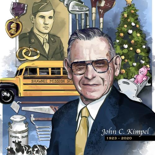 John Kimpel Obituary Art