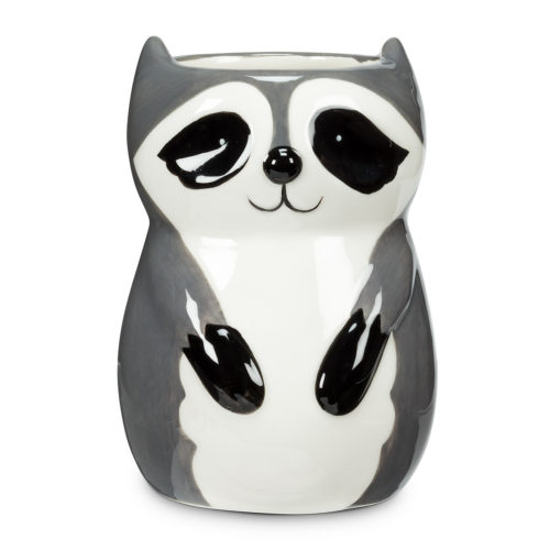 Abbott Sitting Raccoon Planter