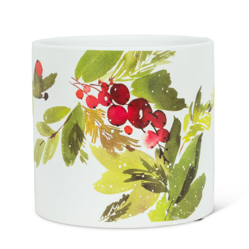 Abbott Large Cranberries & Greenery Planter