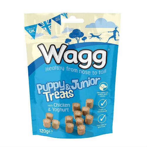 Wagg Puppy Junior Treats With Chicken and Yoghurt