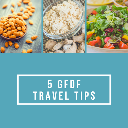 5 Travel Tips for Sticking with your Gluten-free Dairy-free Diet