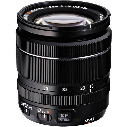 Les meilleurs objectifs pour le Fujifilm X-T4 - Fujifilm XF 18-55mm f/2.8-4 R LM OIS