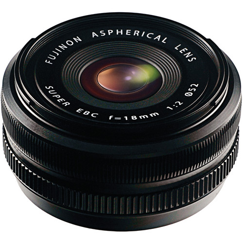 Les meilleurs objectifs pour le Fujifilm X-T4 - Fujifilm XF 18mm f/2 R
