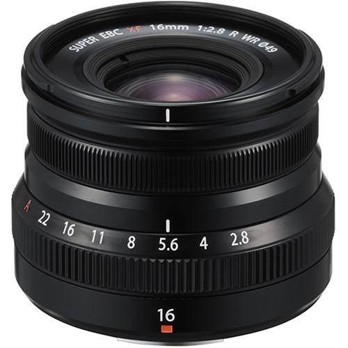 Fujifilm XF 16mm f/2.8 R WR - Les meilleurs objectifs pour le Fujifilm X-T4