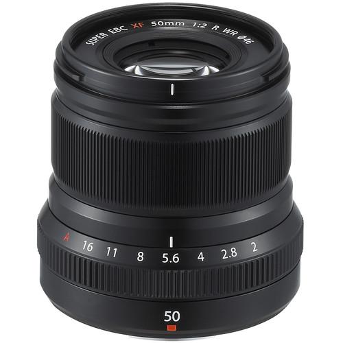 Les meilleurs objectifs pour le Fujifilm X-T4 - Fujifilm XF 50mm f/2 R WR