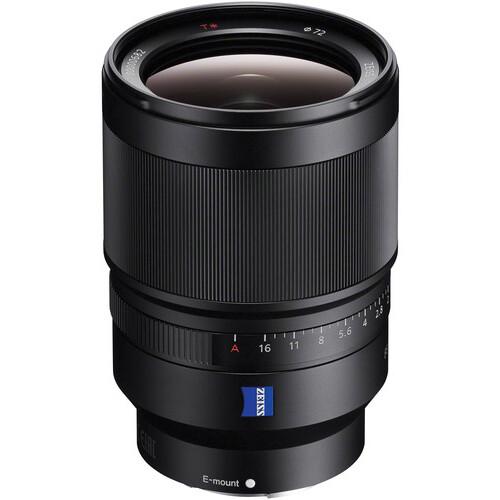 Sony Zeiss FE 35mm f/1.4 | Meilleurs objectifs recommandés pour le Sony a7R IV