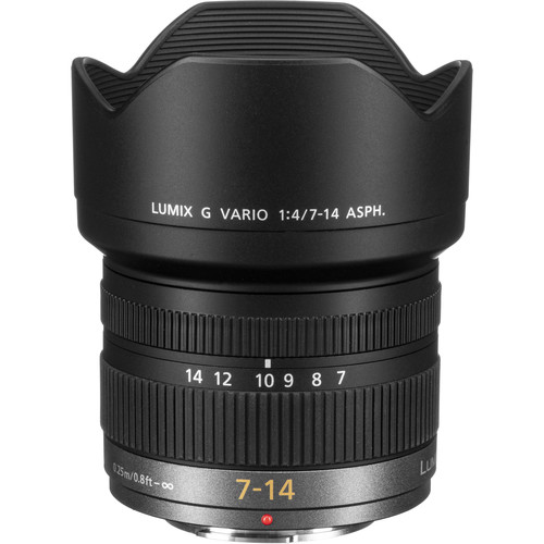 Panasonic 7-14mm f/4 ASPH meilleur objectif compact pour hybride Olympus OMD EM1 Mark III