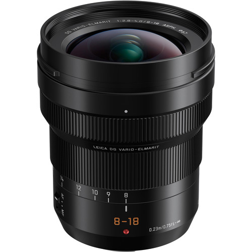 zoom grand angle Panasonic Leica 8-18mm f/2.8-4 ASPH meilleur choix pour Olympus OM D EM1 III