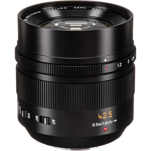 Panasonic Leica Nocticron 42.5mm f/1.2 objectif haut de gamme de portrait ideal pour Olympus OMD EM1 III