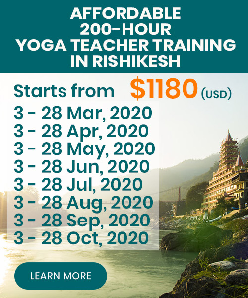 yoga teacher training rishikesh 2020
