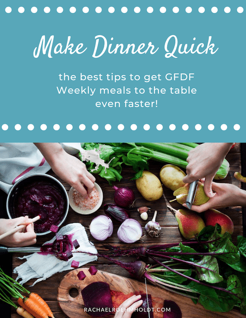 Make Dinner Quick Guide Cover