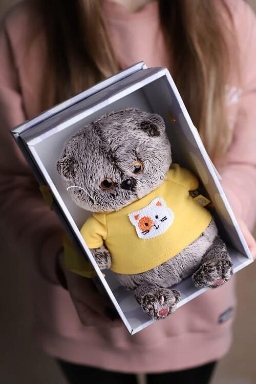 """Кот Басик """"Baby"""" - Мягкая игрушка №930 - Фото 59"""