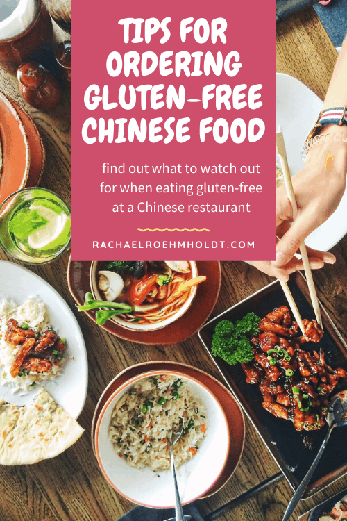 Tips for Ordering Gluten-free Chinese Food