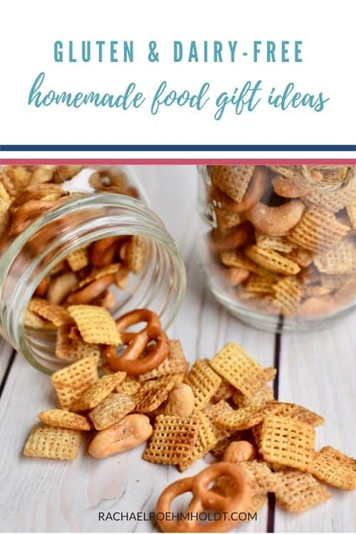 Gluten and dairy-free homemade food gift ideas