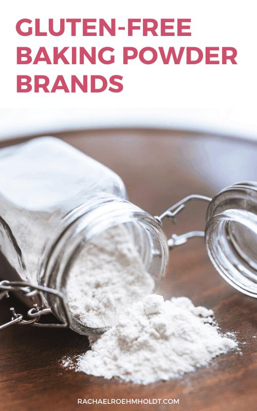 Gluten-free Baking Powder Brands