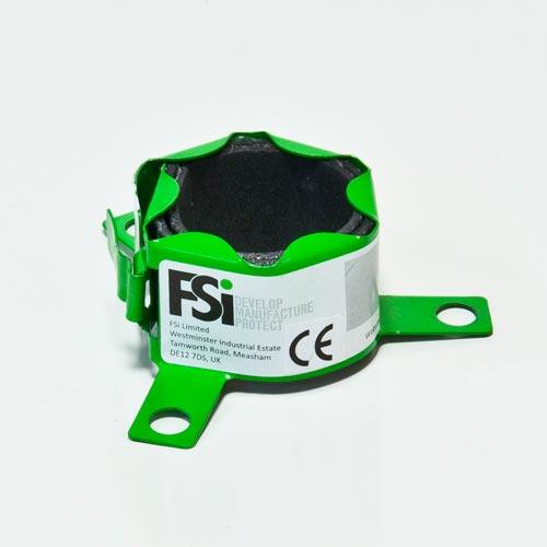 CE gemarkeerde 40 mm brandmanchet