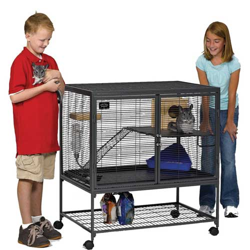 Critter Nation 2-Story Small Animal Cage