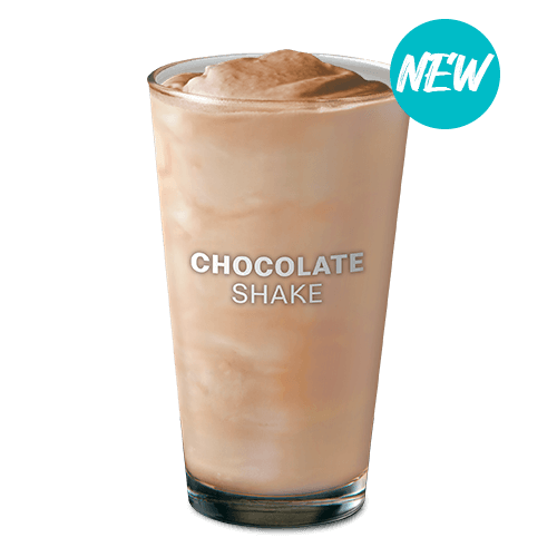 McDo Shake is available in chocolate