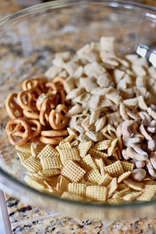 Gluten and Dairy-free Chex Mix Ingredients