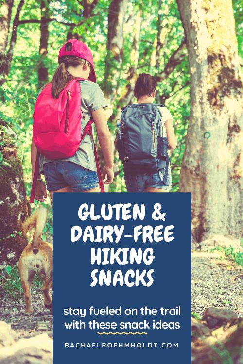 Gluten and Dairy-free Hiking Snacks