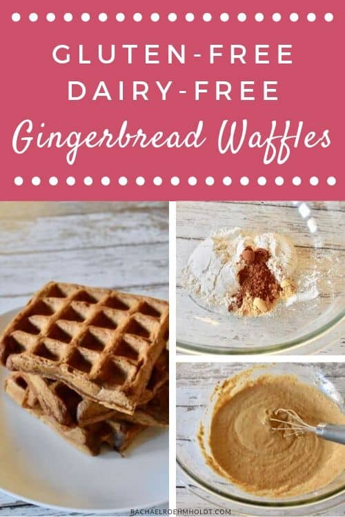 Gluten and Dairy-free Gingerbread Waffles