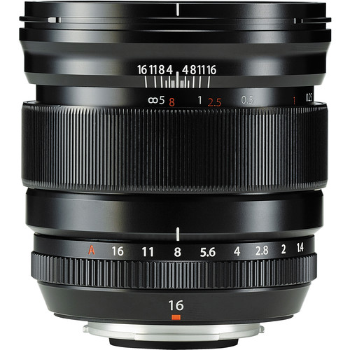 Fujifilm XF 16mm f/1.4 R WR - Les meilleurs objectifs pour le Fujifilm X-T4