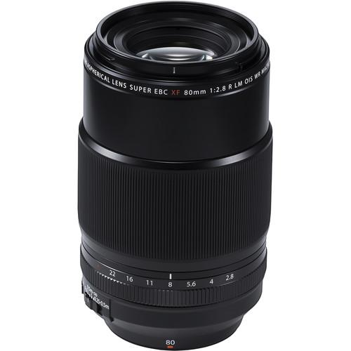 Les meilleurs objectifs pour le Fujifilm X-T4 - Fujifilm XF 80mm f/2.8 R LM OIS WR Macro