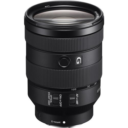 Sony FE 24-105mm f/4 G OSS | Meilleurs objectifs recommandés pour le Sony a7R IV