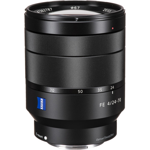 Sony FE 24-70mm f/4 ZA OSS | Meilleurs objectifs recommandés pour le Sony a7R IV